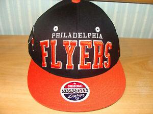 Zephyr-Philadelphia-Flyers-Snapback-Cap-Hat-NHL-Black