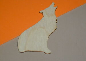 Howling-Wolves-Unfinished-Wood-Shapes-HW151-Crafts-Cut-Outs-Variety-of-Sizes