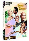 South Pacific/Oklahoma/The King And I (DVD, 2006, 3-Disc Set, Box Set)