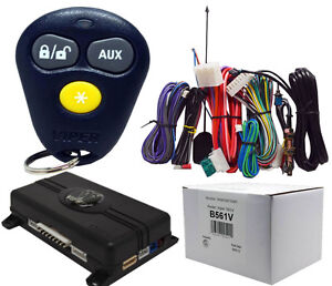 4105 viper remote start wiring diagrams    viper    561v 1 way    remote       start    system and keyless entry     viper    561v 1 way    remote       start    system and keyless entry