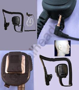Lapel Shoulder Speaker Microphone for Motorola HT MT XTS MTX GP MTS2000 Astro