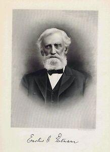 PUTNAM-Erastus-G-New-Jersey-Public-Servant-Steel-Engraved-Print