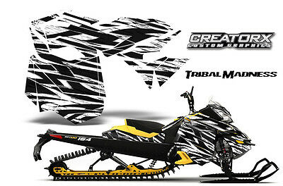 SKI-DOO REV XM SUMMIT SNOWMOBILE SLED GRAPHICS KIT WRAP CREATORX DECAL TMWY