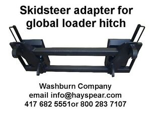 quick hitch adapter for skid steer case 1845c