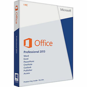 licencia office professional plus 2013