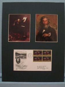 Honoring-Artist-Thomas-Eakins-amp-First-Day-Cover