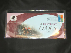 137th-KENTUCKY-OAKS-FIRST-DAY-LETTER-with-OFFICIAL-SEAL