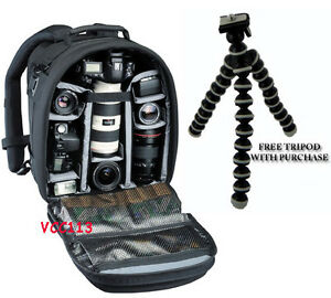 TAMRAC-5256-CYBERPACK-6-CAMERA-amp-LAPTOP-BACKPACK-FREE-SMALL-TRIPOD