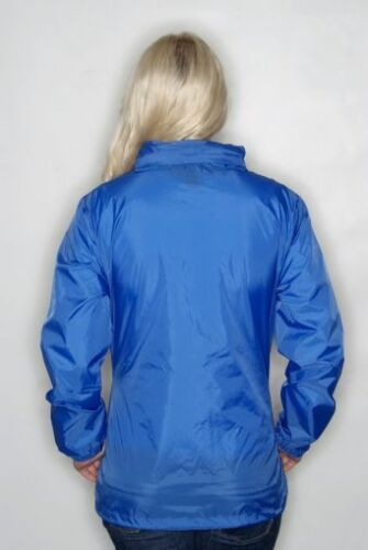 Ladies Sirocco Waterproof Windproof Jacket Rain Coat 10 Colours Womens Size 8-18