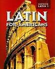Latin for Americans Level 1 by McGraw-Hill (Hardback, 2002)