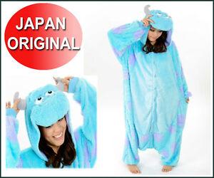 NEW-Monster-039-s-Inc-Sully-Costume-Kigurimi-Japan-Sully-Costume-Halloween-Pajamas