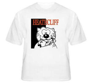 Heathcliff-The-Cat-Cartoon-Funny-Cute-Cool-White-TShirt