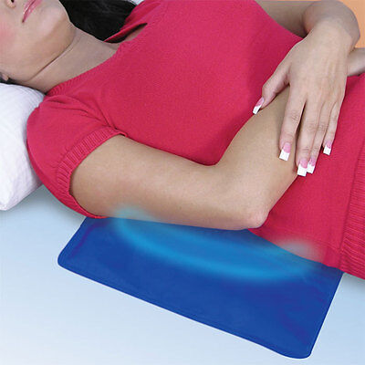 Remedy Gel Cooling Pad Soothes your Muscles Cools and Soothes for Hours 12X6""