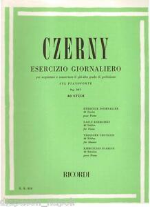 Czerny: Exercise Daily Am Klavier Op.337 - Erinnerungen