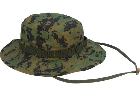 Rothco Boonie Hat 5827 Woodland Digital Military Style Cotton ... c68ac1228d49