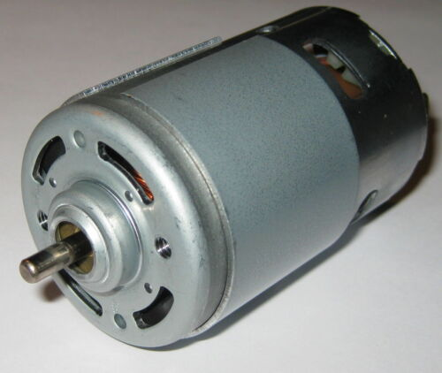 Large 12V Hobby Motor - High Torque - 3200 RPM - 650 Series Radio Control Motor