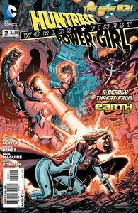 WORLD-039-S-FINEST-2012-2-NM-HUNTRESS-POWER-GIRL-THE-NEW-52