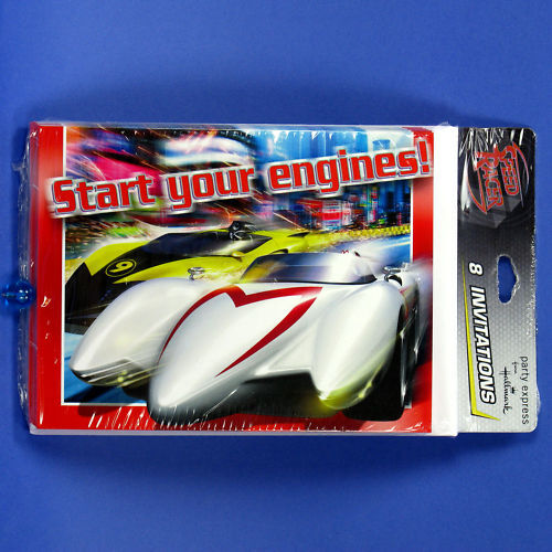 SPEED RACER BIRTHDAY KIDS PARTY DECORATIONS SUPPLIES-PARTY EXPRESS FROM HALLMARK