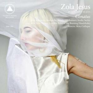 Zola-Jesus-Conatus-CLEAR-VINYL-LP-Record-MP3-of-cd-amp-Poster-indie-goth-NEW