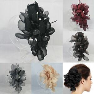 7-COLOR-OVERSIZED-FLOWER-HAIR-CLIP-ACCESSORY-FASCINATOR-WEDDING-BRIDAL-HEADPIECE