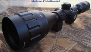 Nikko-Mountmaster-4-12x50-Parallax-Illuminated-Rifle-Scope-with-3-8-034-Mount-Rings