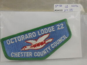 BOY SCOUTS O.A. LODGE 22 OCTORARO GREEN IBS BORDER NO FDL ROA122