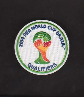 2014 FIFA WORLD CUP QUALIFIERS SOCCER/FOOTBALL JERSEY PATCH 100% EMBROIDERED