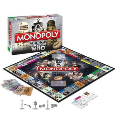 Doctor Who Monopoly Board Game - 50th Anniversary Collector's Edition NEW!
