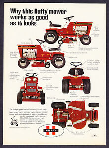 1971-Huffy-8-Caprice-Riding-Lawn-Mower-photo-promo-ad