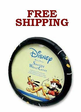 New Walt Disney Mickey Mouse Vintage Classic Steering Wheel Cover