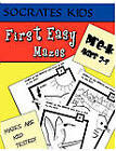 First Easy Mazes (Socrates Kids Workbook Series) by Madness Books (Paperback / softback, 2010)