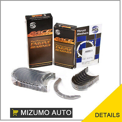 Fit ACL Race Series Main Rod Bearings @ .25mm Toyota Celica MR2 3SGTE 3SGELC 2.0