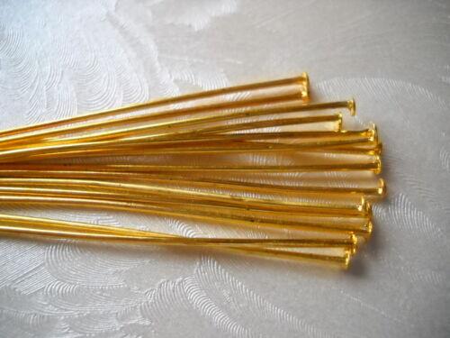 Nietstifte kettelstifte cabeza lápices plata oro 60 mm prismenstifte pins selección