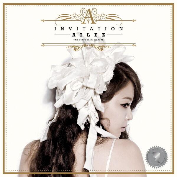 AILEE - Invitation (1st Mini Album) CD + Booklet K-POP