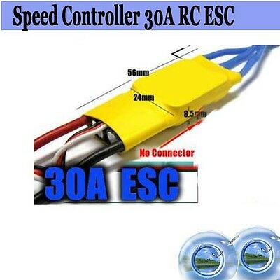 NEWEST MYSTERY 30A Speed Controller RC ESC For Brushless Motor Part 4C