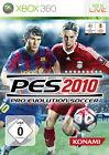 Pro Evolution Soccer 2010 (Microsoft Xbox 360, 2009, DVD-Box)