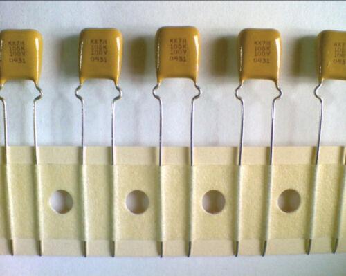 Lot of 2 Kemet Ceramic Capacitor MLCC C346 1uF 100V X7R C346C105K1R5CA7301 C346