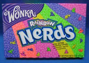 Wonka Nerds Rainbow Sour Candy 4 Theater Box Size | eBay