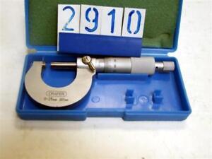 Draper-0-25mm-external-micrometer-2910