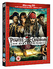 Pirates Of The Caribbean - On Stranger Tides (3D Blu-ray, 2011, 3-Disc Set)