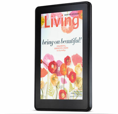 Amazon Kindle Fire eReader 8GB, Wi-Fi, 7in - Black Full Color Multi Touch eBook