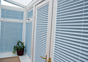 Pleated Conservatory Window Blinds Ez Fit Clip In No