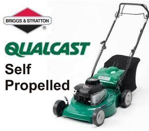 Qualcast-46SP-18-Self-Propelled-Petrol-Rotary-Lawn-Mower-Self-Drive-46cm