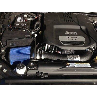 aFe POWER PRO 5R STAGE 2 COLD AIR INTAKE 2012 JEEP WRANGLER 3.6L V6 JK