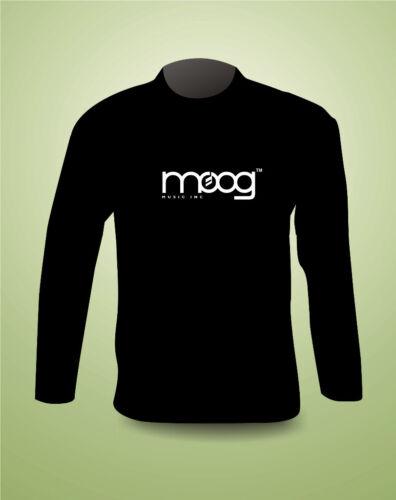 MOOG synthesizer SUPER PREMIUM LONG SLEEVE T Shirt  FREEPOST UK