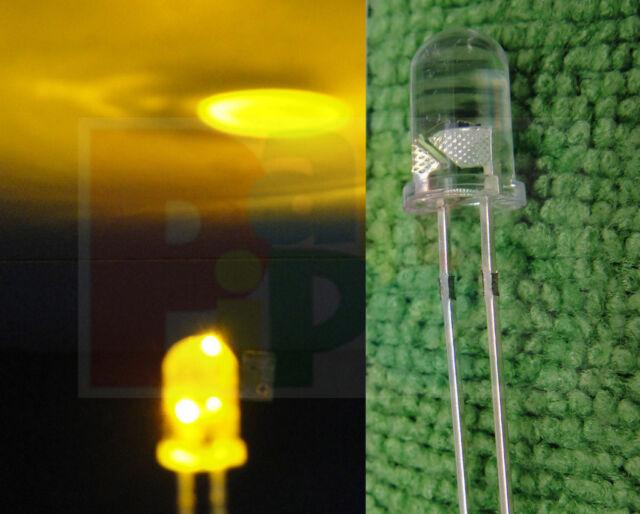 10pc Randomly Flickering Flicker Flash Flashing 5mm LED