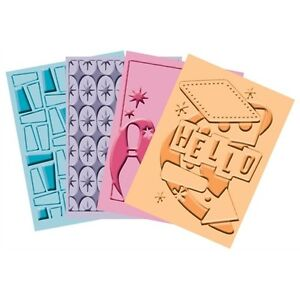 Cuttlebug Embossing Set - Nifty Fifties - 2000612