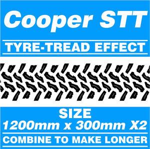 Cooper-STT-Tyre-Tread-4x4-Off-Road-Cut-Vinyl-Graphic-Stickers-1200mm-x-300mm-x2