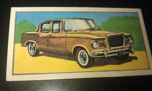 1960 STUDEBAKER LARK Orig Barratt & Co. Sweets UK Trade Card