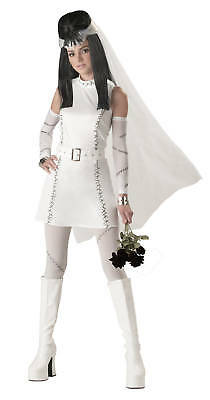 Frankie's Girl Teen Frankenstein Bride Costume